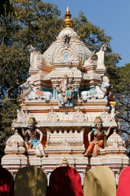 Gopuram of a Hindu Temple