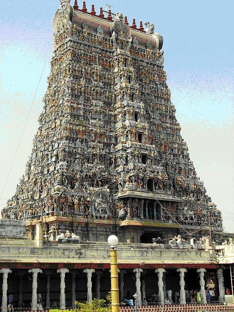 Meenakshiamman Temple Tower