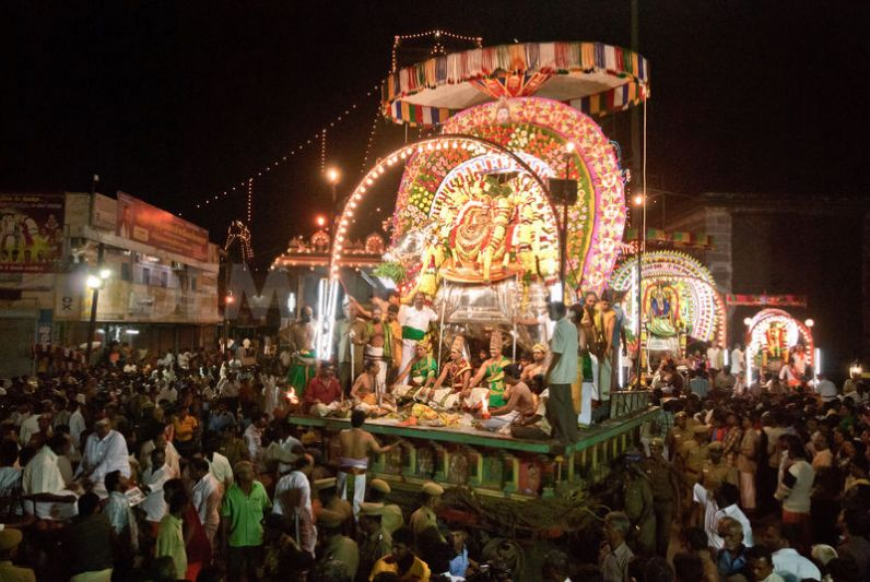 Deities procession