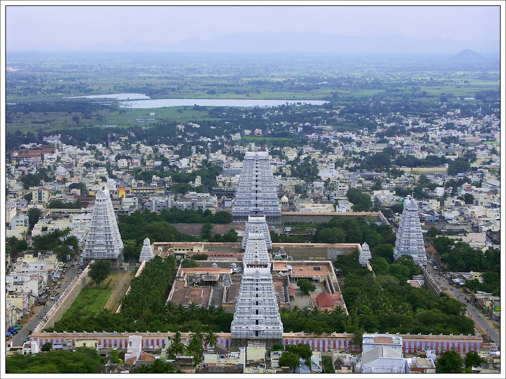Tiruvannamalai Temple and City