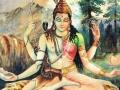 Ardhanareeswara - God Shiva and Godess Parvati