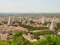 Panaroma of Tiruvannamalai Temple and City