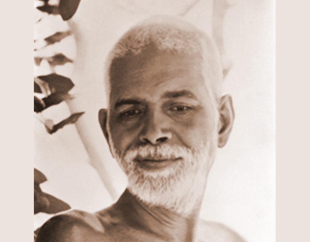 Ramana Maharshi 2 tepia