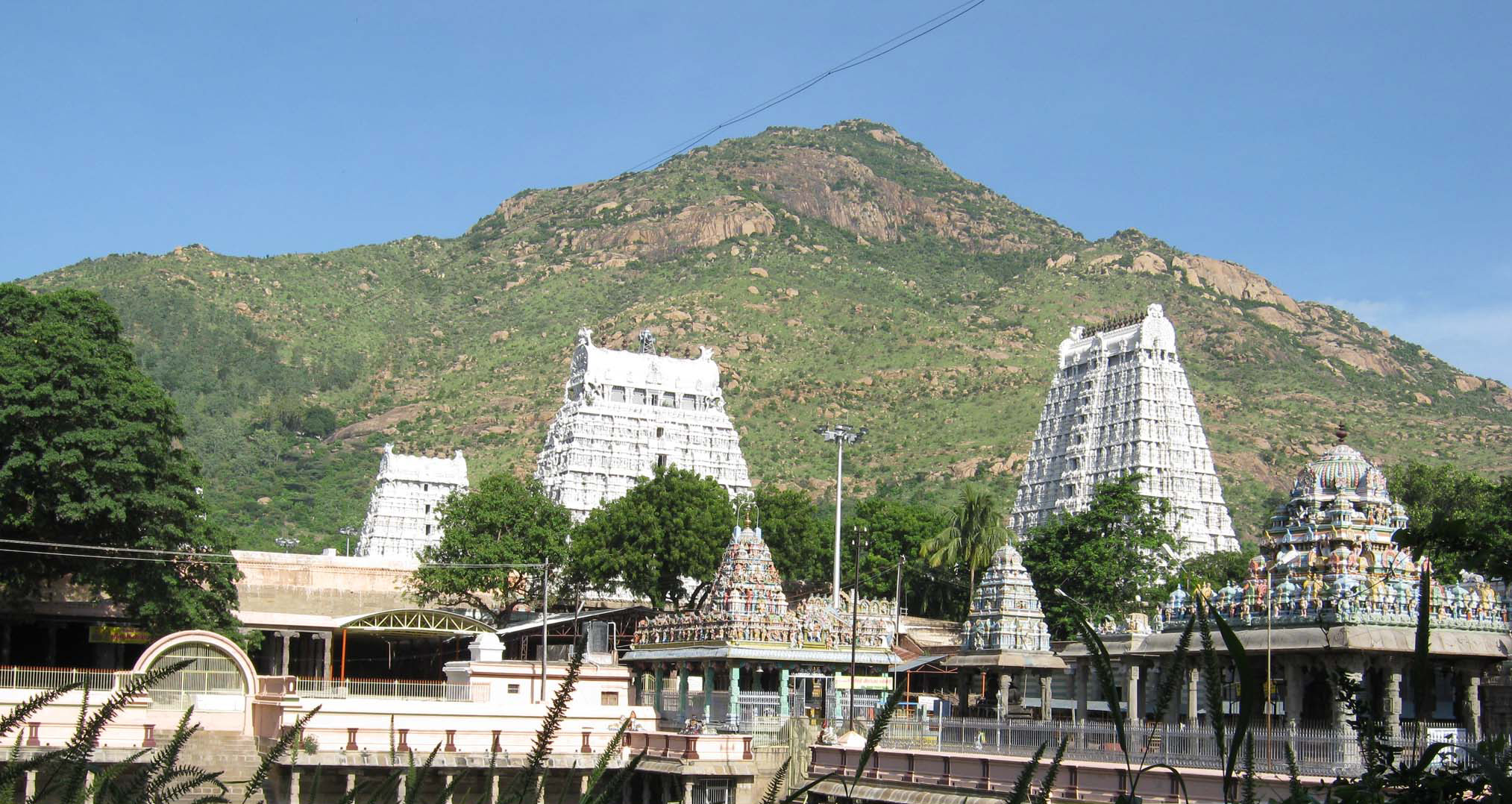 Arunachala Hill and Temple