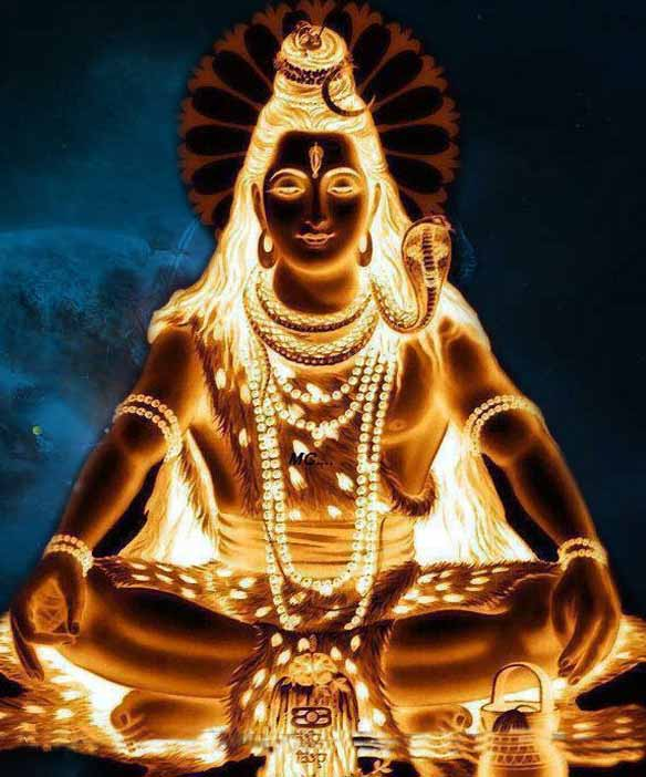 Lord Shiva - Self-shining Light