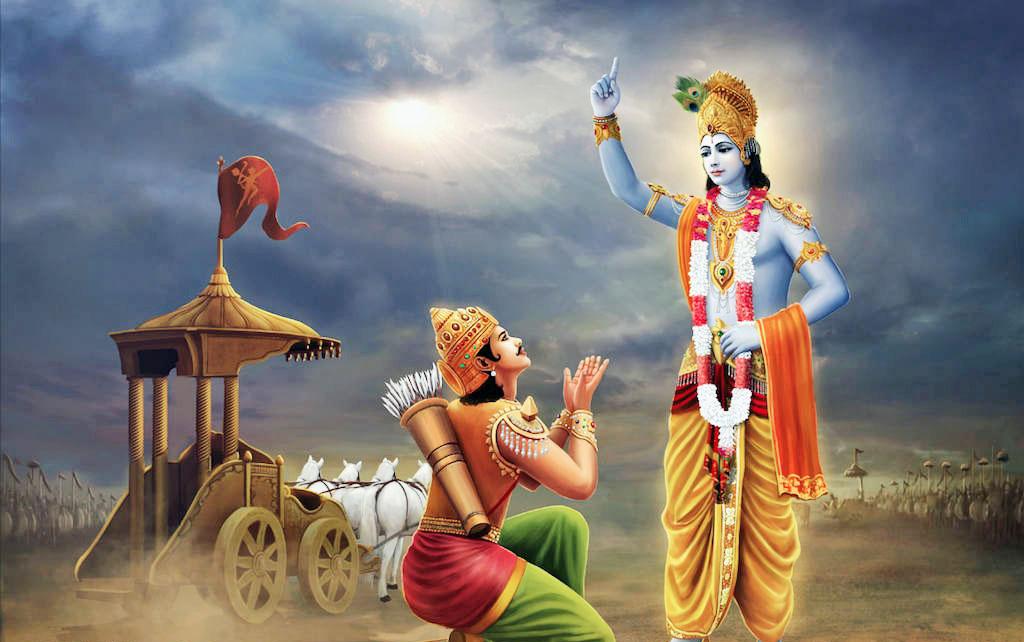 Bhagavad Geeta Verses - Selected by Ramana