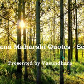 Ramana Maharshi Quotes in English - (Set 4)