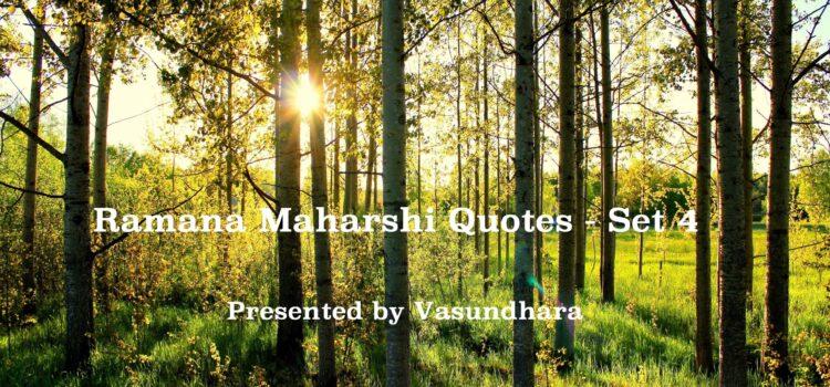 Ramana Maharshi Quotes in English – (Set 4) – Video