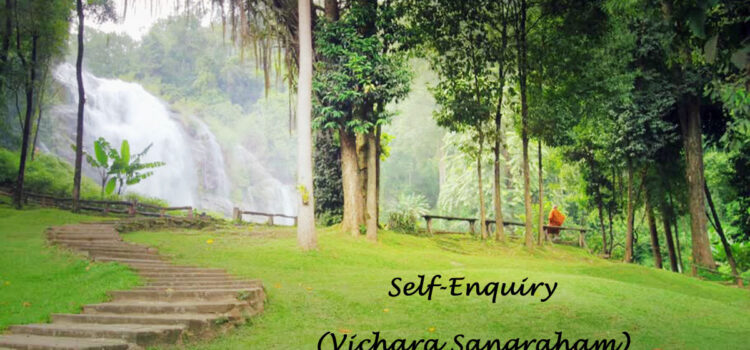 Self-enquiry – Vichara Sangraham (18)