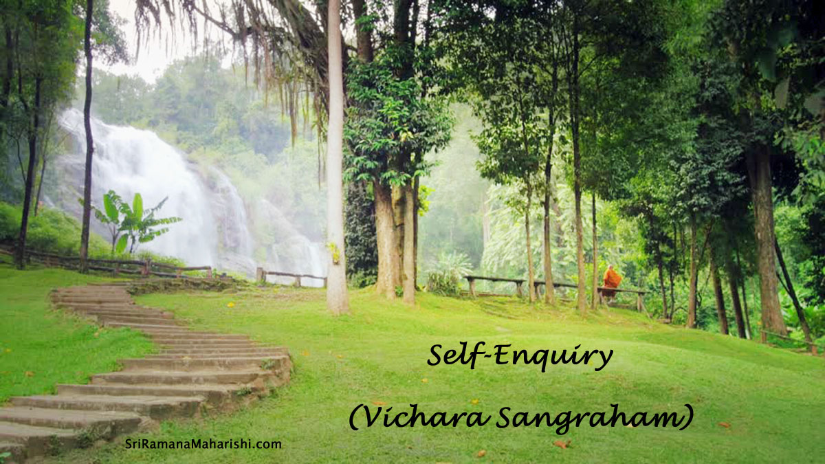 Self-Enquiry - Vichara Sangraham