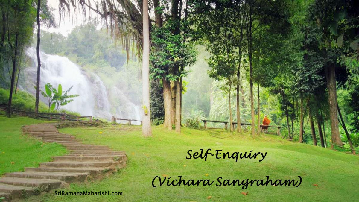 Self-Enquiry - Vichara Sangraham