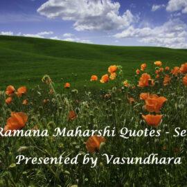 Ramana Maharshi Quotes in English - (Set 5) - Video