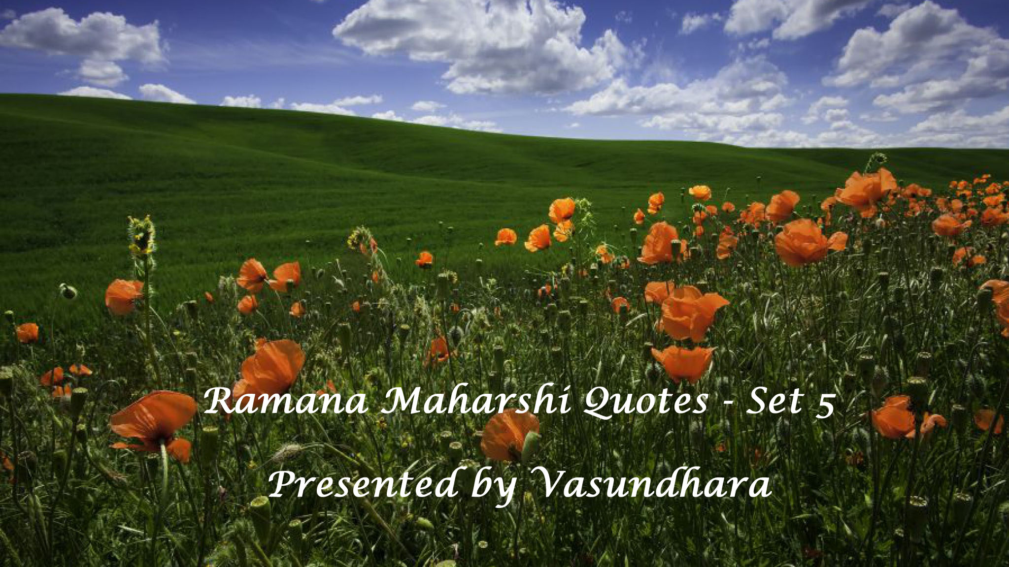 Ramana Maharshi Quotes in English - (Set 5) - Video