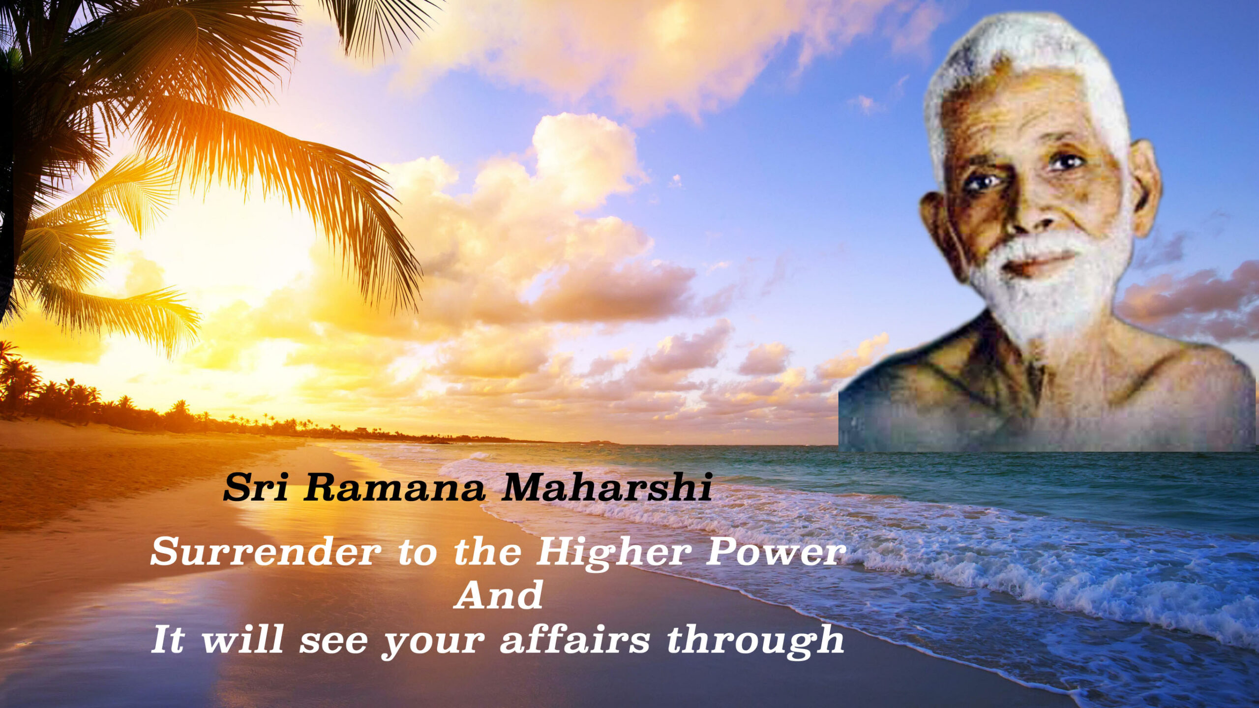 Surrender to the Higher Power and It will take over your activities and results