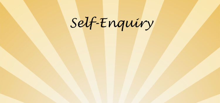 What is Self-Enquiry? How to do it? (3)