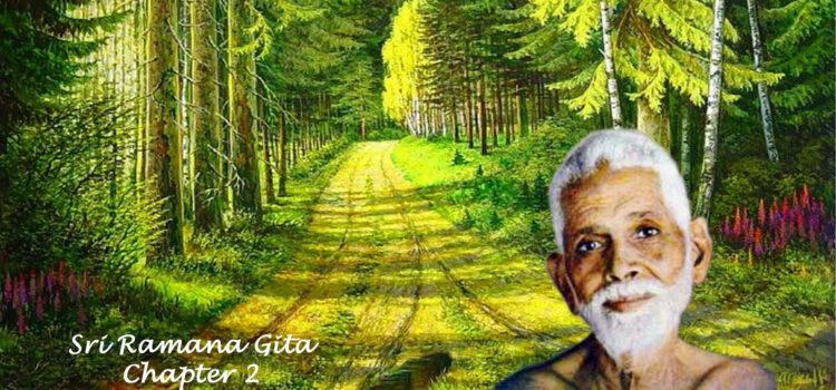 Ramana Gita – Chapter 2 – The Three Paths
