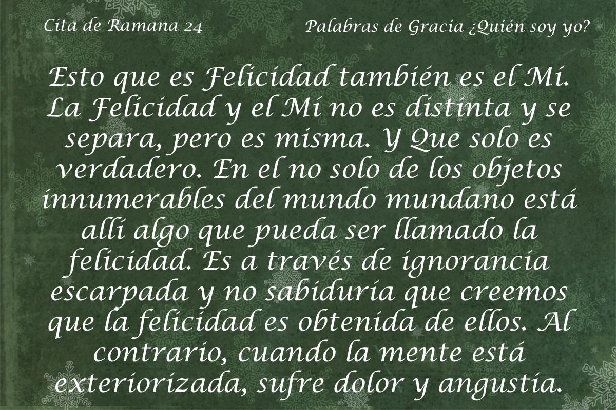 Cita de Ramana 24