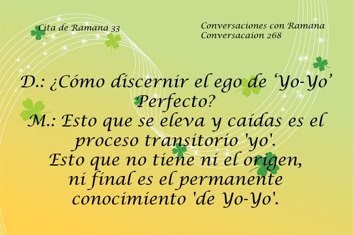 Cita de Ramana 33