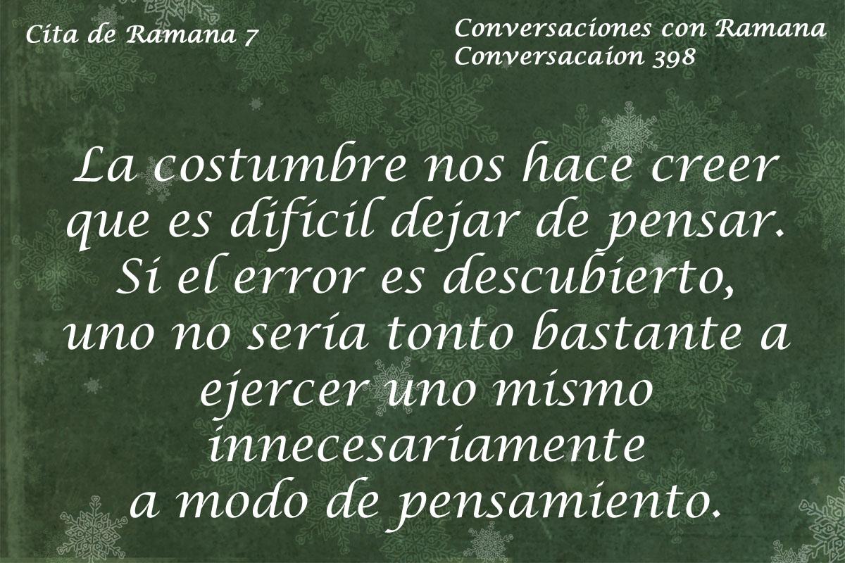Cita de Ramana 7