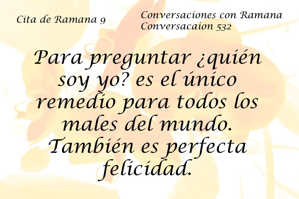 Cita de Ramana 9