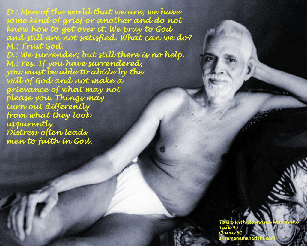 Ramana Maharshi Quote 61