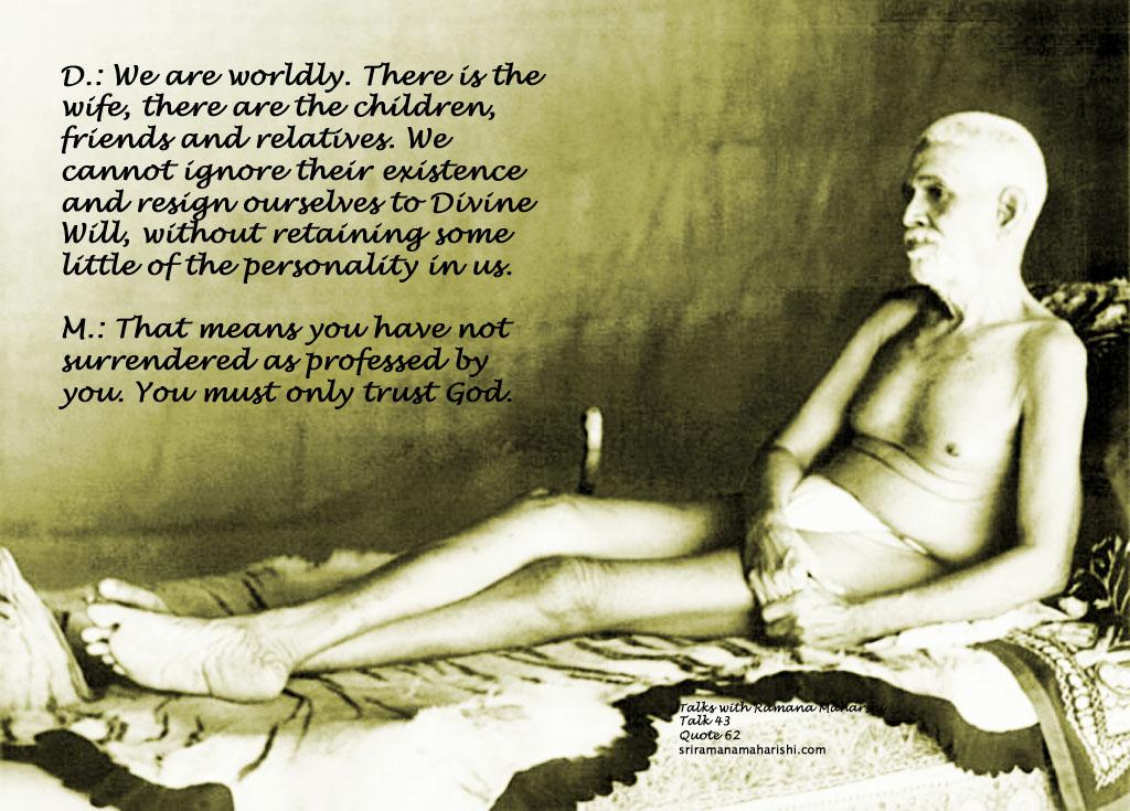 Ramana Maharshi Quote 62