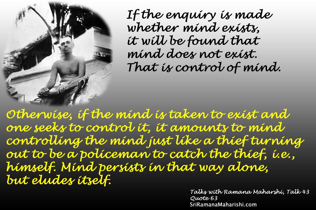 Ramana Maharshi Quote 63