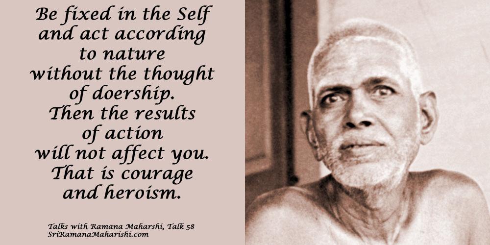 Ramana Maharshi Quote 65