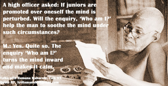 Ramana Maharshi Quote 67