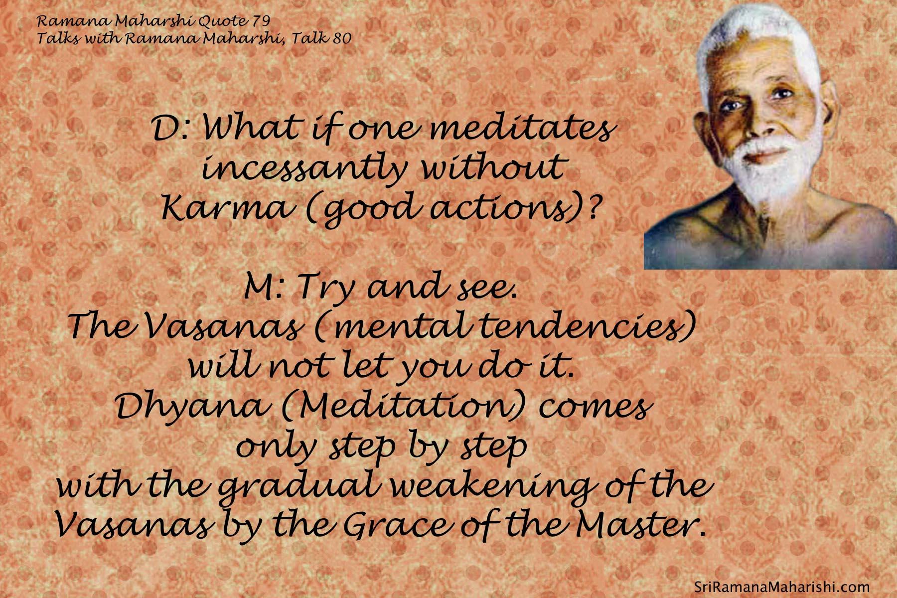 Ramana Maharshi Quote 79