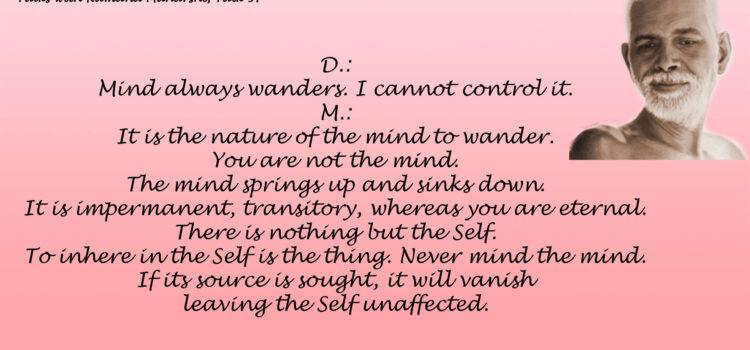 Ramana Maharshi Quote 89